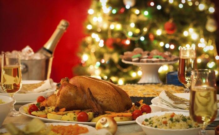 jantar para o natal